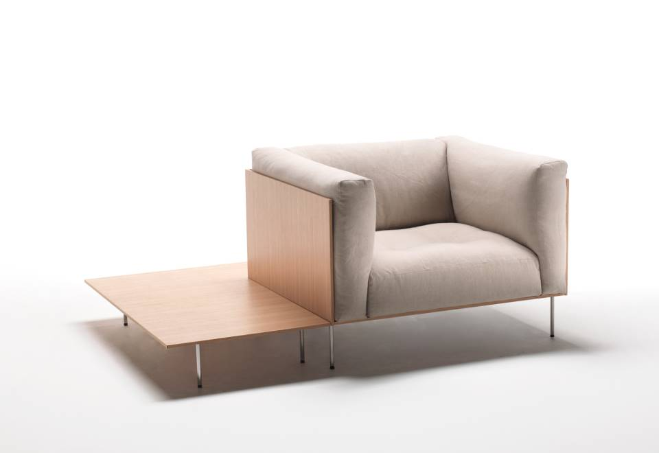 Align 4 piece upholstered for Toto arredamenti