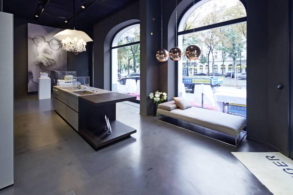 Steininger Bau steininger designers showroom in wien living divani