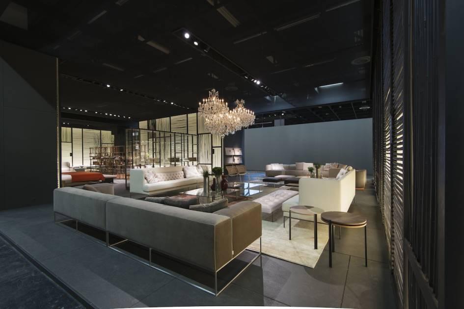 imm cologne 2015 living divani. Black Bedroom Furniture Sets. Home Design Ideas