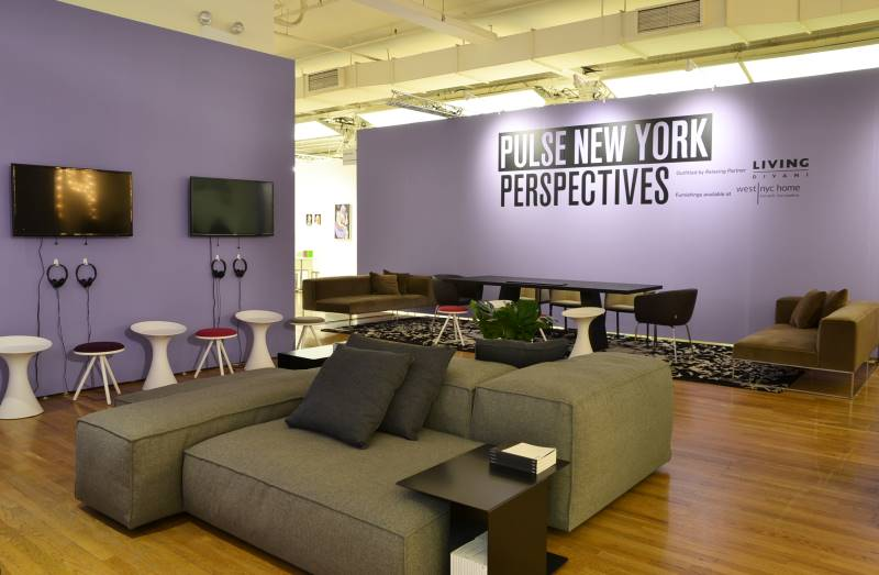 Pulse new york 2016 living divani for Interior design and decoration 6th edition