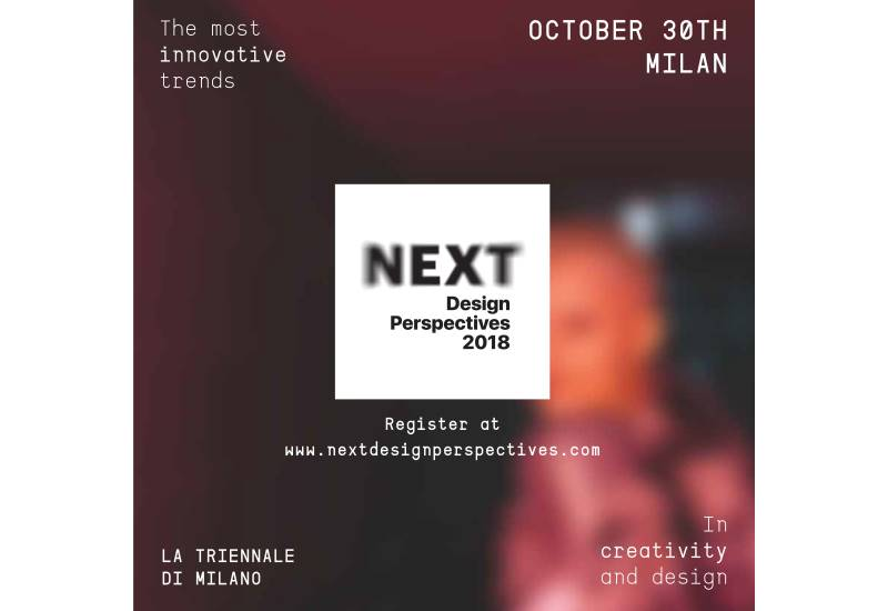 Living Divani sponsor di NEXT DESIGN PERSPECTIVES 2018
